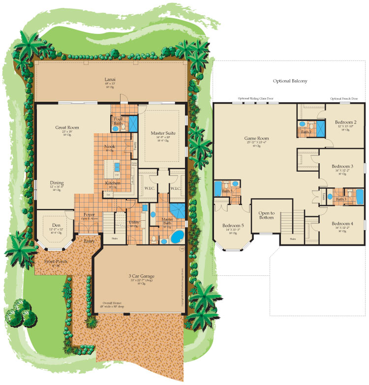 St. Thomas floorplan