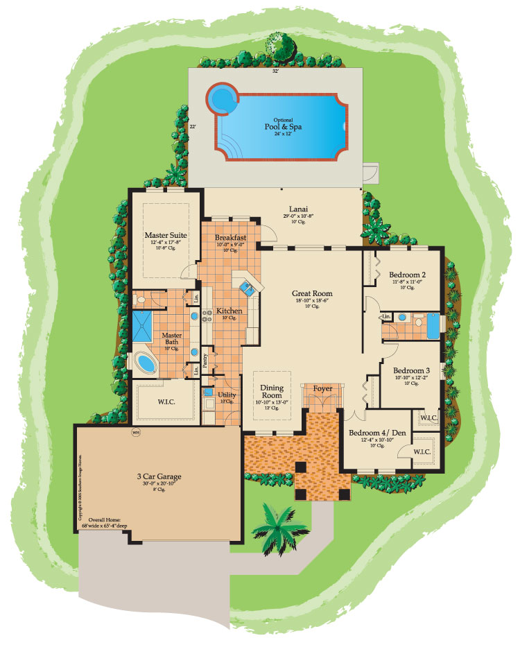 River Jewel floorplan