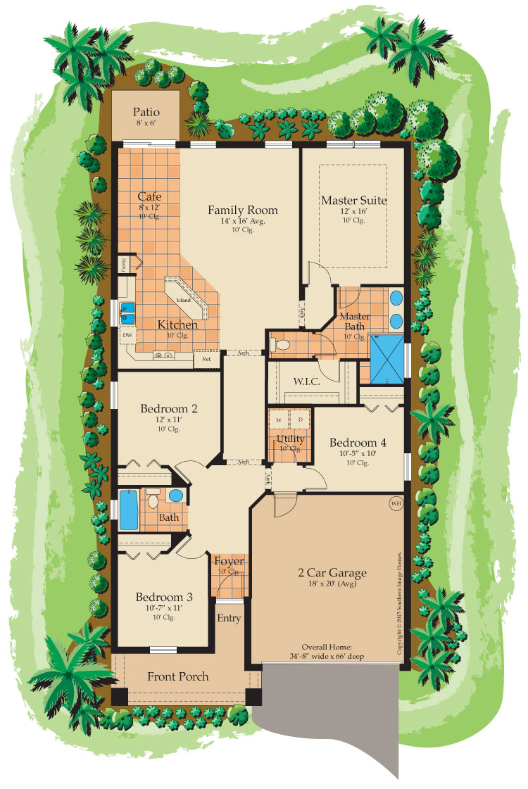Cordova floorplan
